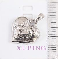 Кулон XUPING-(родий)